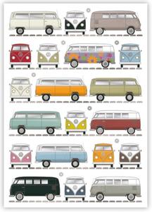 Postcard | Volkswagen Bus