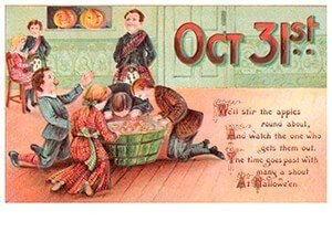 Victorian Halloween Postcard | A.N.B. - Oct 31st