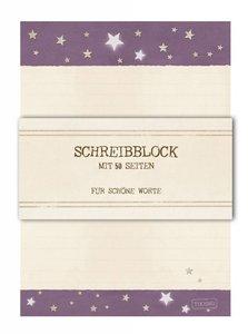 A5 Schreibblock TikiOno | Sterne