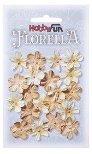 Paper Flowers   Beige