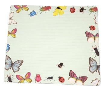 Notebook Desk Planner | Insecten, Sorcia