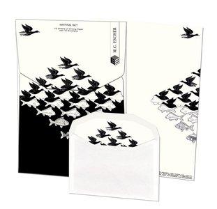 Writing Set | Lucht en water, M.C. Escher