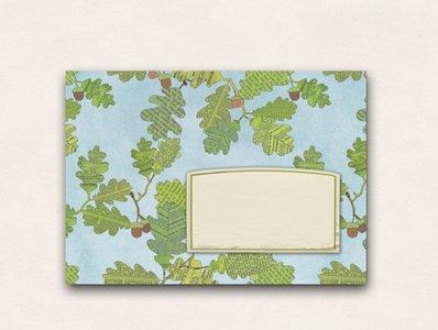 10 x Envelope TikiOno | Eichenlaub