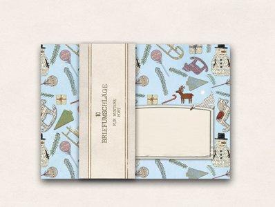 10 x Envelope TikiOno   Christmas