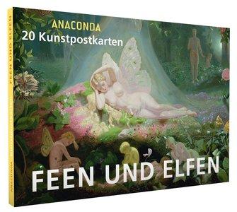 Anaconda Art Postcard Book   Feen und elfen