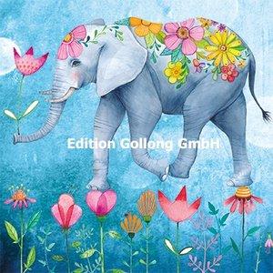 Mila Marquis Postcard | Elephant