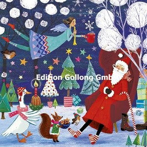 Mila Marquis Postcard Christmas | Nikolaus und Engel