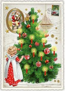 Postcard Edition Tausendschoen Christmas   Christmas Tree