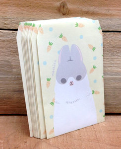 Machiko Bunny by Yukiji Mini Gift Envelopes Set