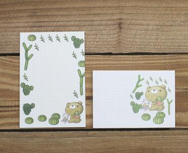 Dear Little Bear Mini Letter Set | Cactus