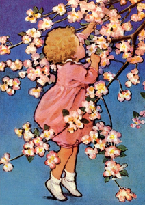 Postcard | Picking Blossom