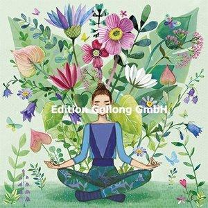 Mila Marquis Postcard | Vrouw doet yoga