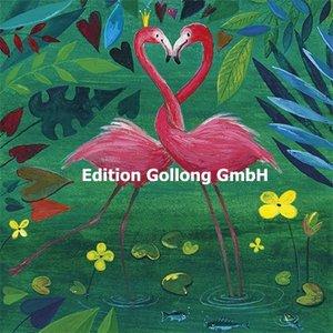 Mila Marquis Postcard | Two Flamingos