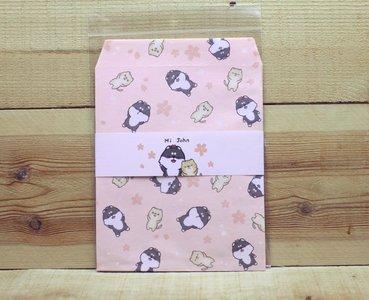 Hi John Gift Envelopes Set   Sakura