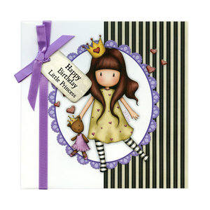 Gorjuss Greetings Card Happy Birthday Little Princess!