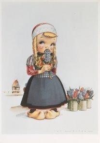 Postcard   Jan Lavies (1902-2005) - Jan Lavies/Marken, Holland