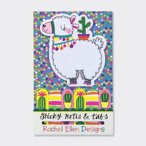 Rachel Ellen Designs Sticky Notes & Tabs - Llama