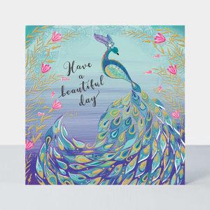 Rachel Ellen Designs Darjeeling - Birthday/Peacock