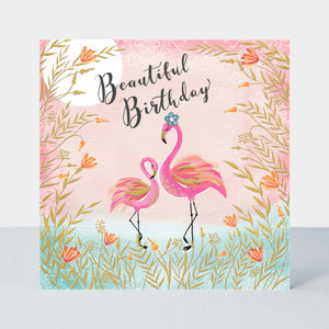 Rachel Ellen Designs Darjeeling - Birthday/Flamingos