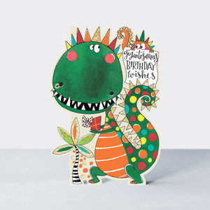 Rachel Ellen Designs Cards - Little Darlings - Gigantosaurus Wishes Dinosaur