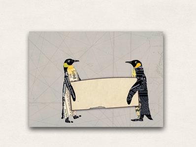 10 x Envelope TikiOno   Penguins