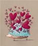 L'Atelier de Papier Aquarupella Postcard | Hérisson