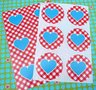 """Sealing Stamp Stickers """"Heart"""""""