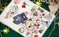 Sticker Flakes Box Yuxian | Merry Christmas