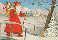 Postcard   Prentbriefkaart, ca. 1950