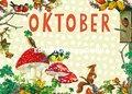 Carola Pabst Postcard   Oktober (Vintage)