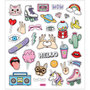 Seal Sticker with Silver Foil | Girl power