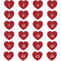 Seal Sticker | Advent Numbers Heart