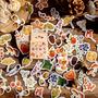 Sticker Flakes Box | Autumn Leaves