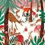 Caroline Bonne-Müller Postcard Christmas | Dieren in het winterbos