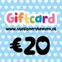 Stationery Heaven Giftcard - 20 euro