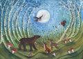 Postcard Bijdehansje | Woodland Creatures