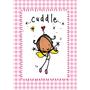 Juicy Lucy Designs Postcard - Cuddle!