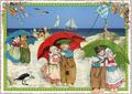 Postcard Edition Tausendschoen | Holland - Beach