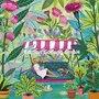 Mila Marquis Postcard | Woman in garden