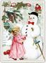 Postcard Edition Tausendschoen Christmas | Snowman