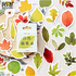 Sticker Flakes Box | Different Leaves_