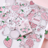 Sticker Flakes Box Candy Poetry | Cute Pink Items_