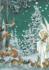 Postcard Molly Brett | Woodland Creatures Gather Around an Angel_