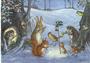 Postcard Molly Brett   Christmas Carols_