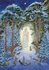 Postcard Molly Brett | Virgin and Child in woods at night_