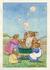 Postcard Margaret Tempest   Soap Bubbles_