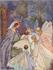 Postcard Margaret Tarrant | The Sleeping Beauty_
