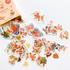Sticker Flakes Box | Cute Fox & Leaves_