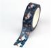 Washi Masking Tape | Skiing Polarbear_