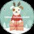 Round Postcard Shutterstock Christmas | Dog_